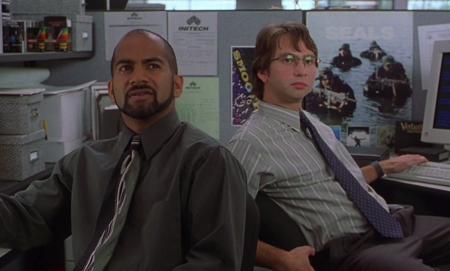 Samir and Michael from Office Space