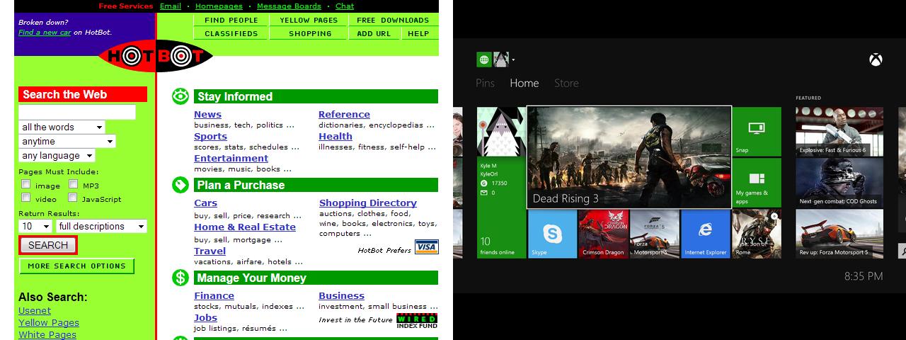 HotBot vs. the Xbox